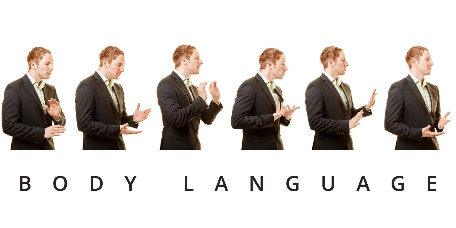 Nhiệm vụ của ngôn ngữ cơ thể đánh giá con người